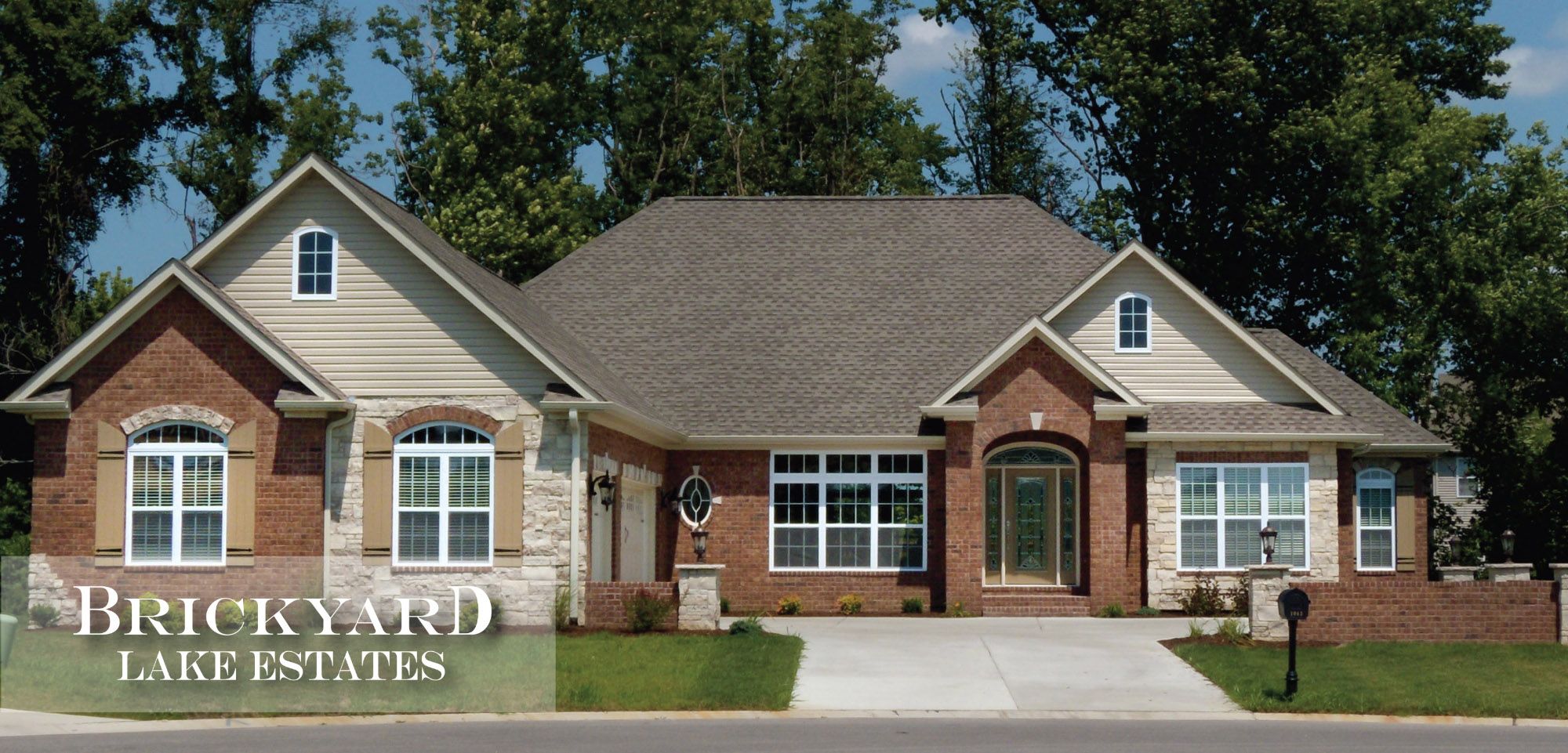 Brickyard Lake Estates Community by Homes by Deesign